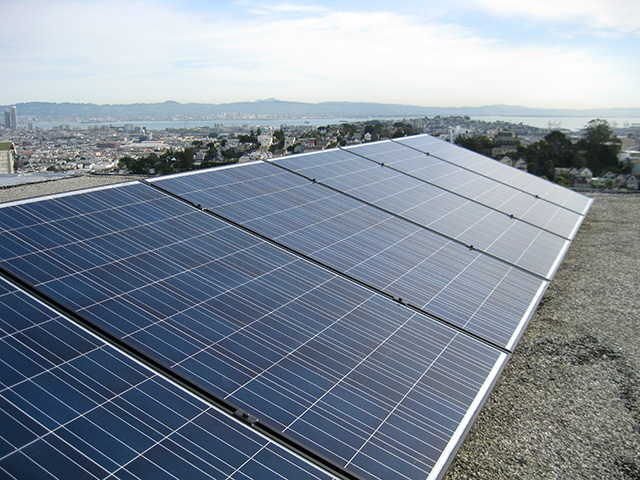 San Francisco Residential Photovoltaic Solar System Flat